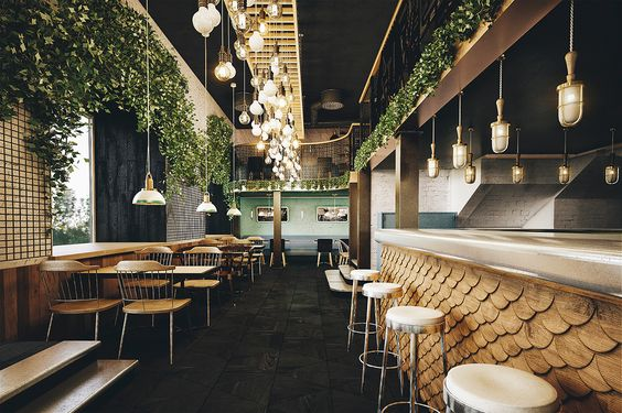 4 Restaurants with Unique Interior to Satisfy Your Soul